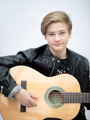 Ivan with guitar