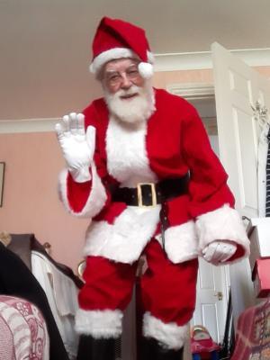 2020 Santa Claus · By: Brian Mitch