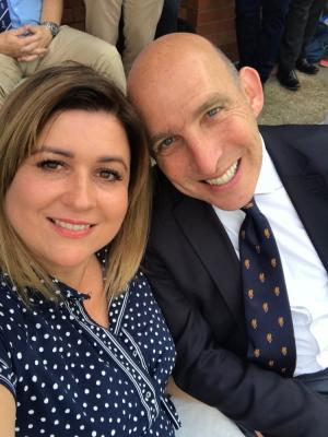 2020 Jonathan with his wife, Joanna · By: Jonathan Brenner