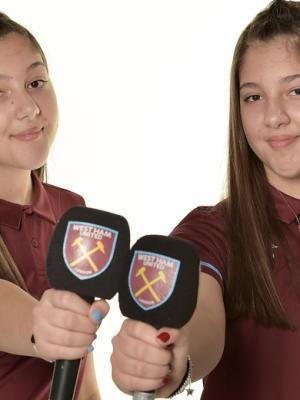 Photo shoot with West Ham United