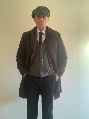 Costume from Silverfin short film shoot