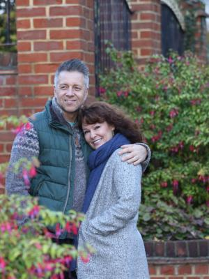 with my partner Craig Bryce