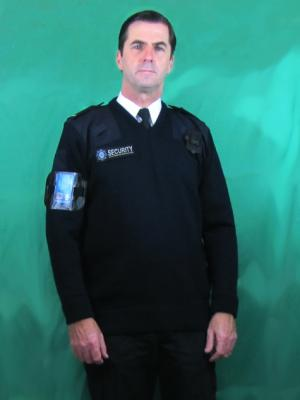 Security uniform for filming