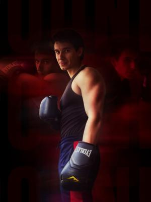 2020 Boxing Still · By: Zoe Hellaby
