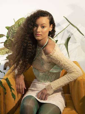 Hair on Sophie B (Milk Management) / Make-Up by: KEVIN FORTUNE / Creative Direction/Styling by: MARTIN WALL