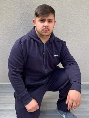 Rocking the tracksuit