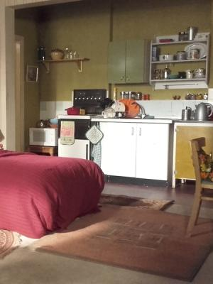 Old man's bedsit - EastEnders BBC
