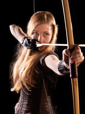 Dotty Holt - archer (long bow)