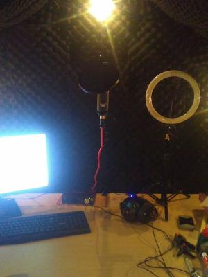 The Mine, professional home studio, small but perfectly formed.