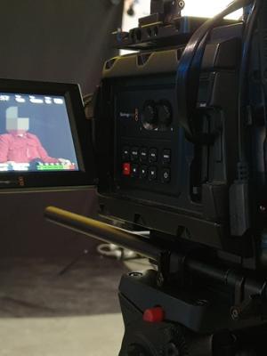 2020 TV Interview Scene · By: Alan Johnson