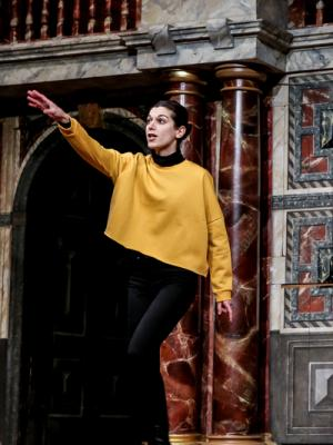"2019 Proteus in ""The Two Gentlemen of Verona"", Shakespeare's Globe Theatre · By: Andrew Williams"