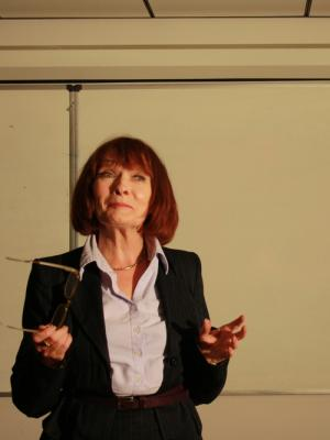 2013 Character 'Siobhain' 'One to Tango' one woman play by Carmel Rooney · By: Aidan Walsh