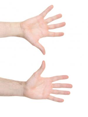 Nick Field Hands - Front