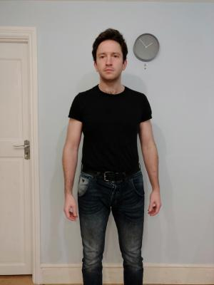 2021 Current Full body photo for Muscularskeletal TVC · By: Ian Sanderson