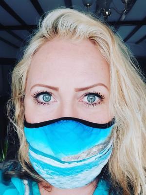 2021 Mask Headshot · By: Nicole Faraday