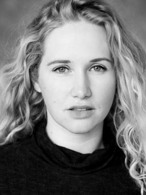 2021 Headshot (black and white) · By: Emily Appleton