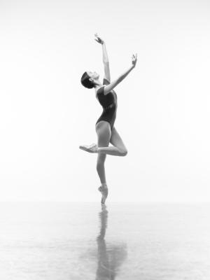 2020 Ballerina on point · By: Photography by ASH