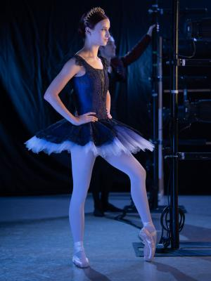2020 Blue Tutu Ballerina · By: Photography by ASH