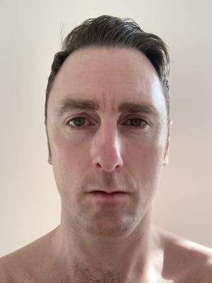 2021 Clean shaven · By: Chris Sheen