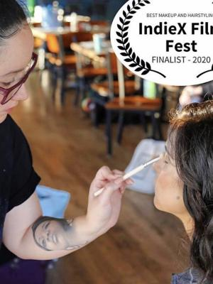 Nomination photo for indieX film festival for Hair/Makeup