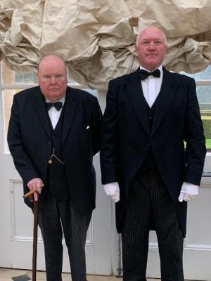 2021 Winston Churchill at Blenheim Palace · By: Anthony Hilton
