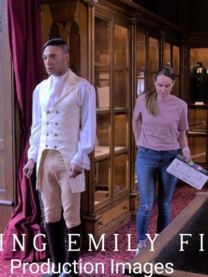 2020 Loving Emily film set