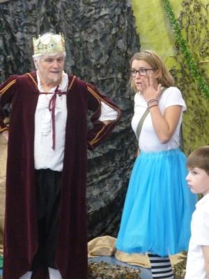 Tony Horitz as The King in 'Mishmashovia'