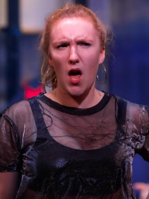 2019 Hannah Moss, as Hostess Quickly in Henry V · By: Paul Seaby