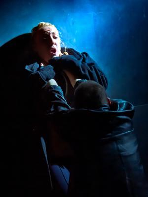 2019 Combat scene in 'The Lower Depths' · By: Paul Seaby