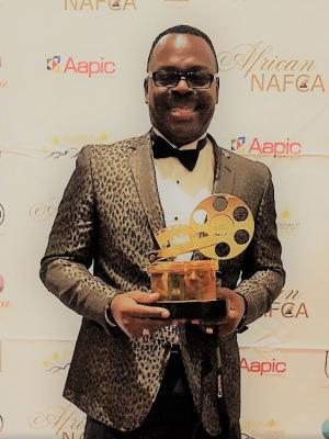 2015 Ken smart won best actor at African oscar in Los Angeles