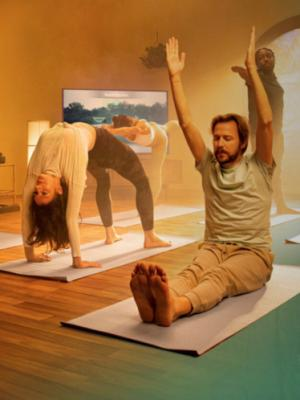 2021 Yoga Pose · By: Joshua Stocker