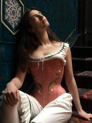2020 Designer and Maker of Victorian Under garments · By: Isabel Walters