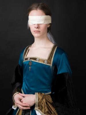 2019 Costume Design & Make of Tudor Period Dress for Woeful Puppet at the Tower Of London · By: Unity Arts