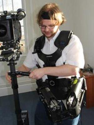 2012 Matt Operating a Steadicam · By: Faith Thompkins