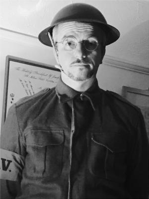 2017 Ron Moorland, World War 2 Homeguard member, Jan 2017 · By: Jen Bateman