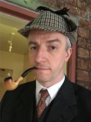 2017 Sherlock Holmes, Hound of the Baskervilles, May '17 · By: Mark Bateman