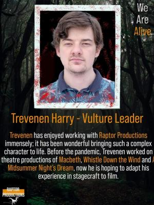 2021 Promotional Ad for We Are Alive · By: Trevenen Harry