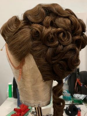 2020 Phantom of the Opera Uk National Tour 2020 Wig Assistant