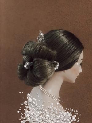 Egita Lune, Wig Maker