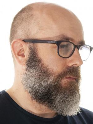 """2021 My """"beardy"""" look (in profile) · By: Sean Markle"""