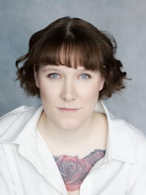 2021 Headshot Aurelia Branwen · By: Barley Nimmo