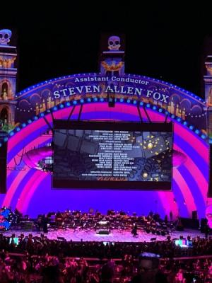 2019 Steven Allen Fox Assistant Conductor Credit - Coco Live-to-Film Experience at Hollywood Bowl
