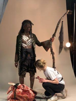 2020 Working on set · By: Alice Platts