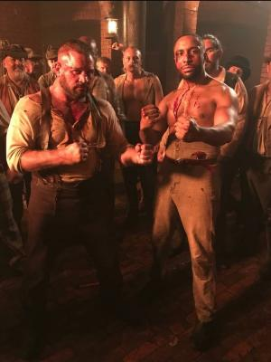 2020 Playing a bare knuckle boxer on Netflix show ' Irregulars ' · By: S francis