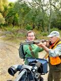 2011 Filming boar hunters in Planet Food Provence · By: John Grove
