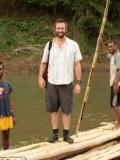 2012 Presenter Zay Harding rafts the Sigatoka river · By: Ian Sciacaluga