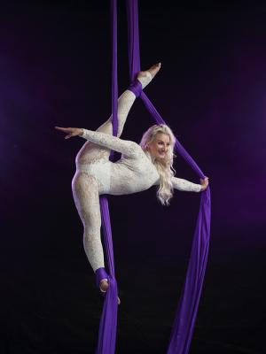 2021 Aerial Silks · By: Pluck Photography