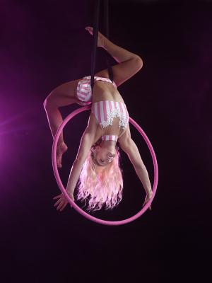 2021 Aerial Hoop · By: Pluck Photography