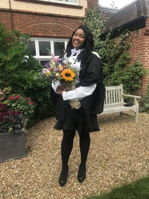 2021 Jerene graduation full length 2 · By: Lucy Cavendish College