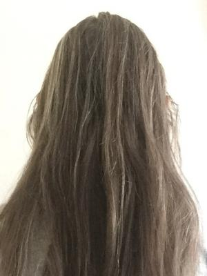 2021 View of hair length back · By: C Kelly